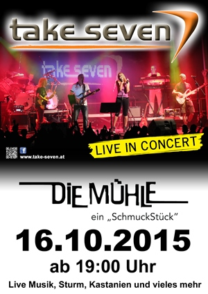 Take Seven in der Mühle Stainz