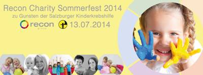 Recon Charity Sommerfest 2014