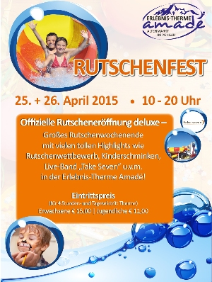 Rutschenfest Therme Amade