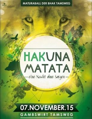 HAKuna Matata - Maturaball HAK Tamsweg